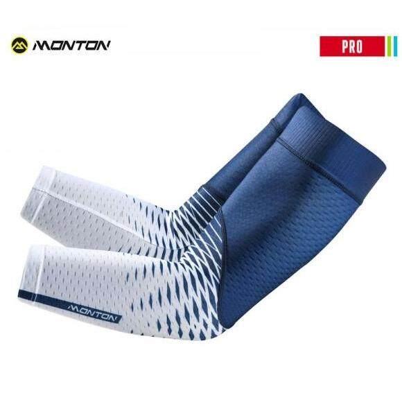 MONTON BICYCLE ARM SLEEVES PRO SAIYI 2 BLUE WHITE