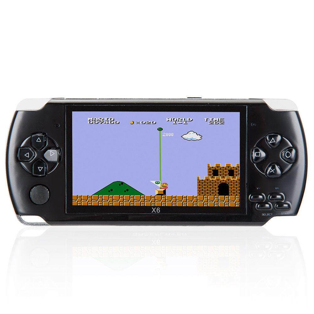 Sa Yanyi 8gb 4.3 Inch Handheld Game Console With 1000 Classic Gba Games, Support Video & Music Playing, Built-In 3m Camera By Sa Yanyi.