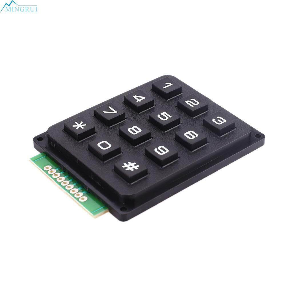 3x4 Matrix Keyboard Module Board Use 12 Keys PIC AVR Stamp 7 x 5 x 0.5cm 8 Pin Malaysia