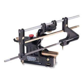 【Free Shipping】Oregon 557849 Professional Bar Mounted Chainsaw Chain Sharpener Filing Guide