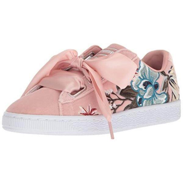 2bb022632cb8 Singapore. PUMA Womens Basket Heart Hyper Embossed Wn Sneaker