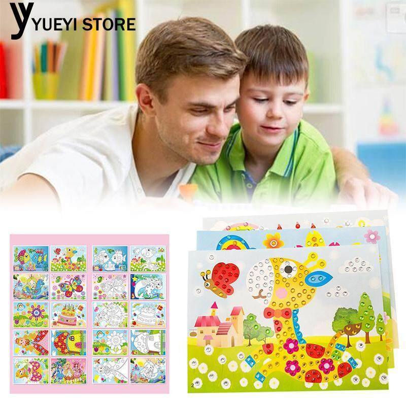 Hình ảnh YYSL 5D Embroidery Diamond Embroidery Color Random DIY Learning Puzzle Kids