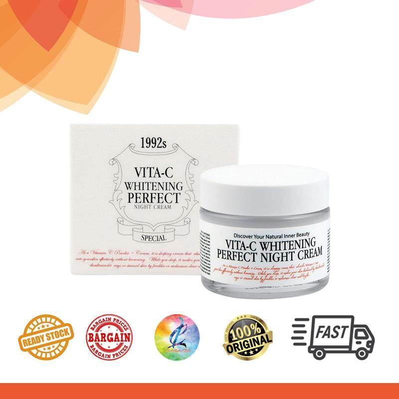 Chamos Acaci Vita-C Whitening Perfect Night Cream & Vita C Powder