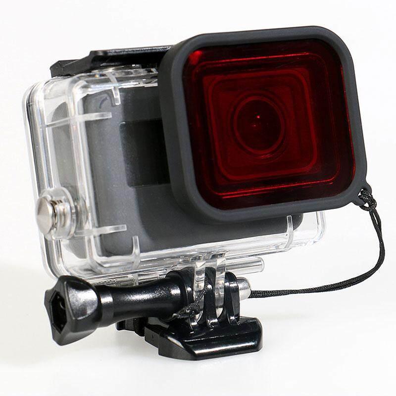 Underwater Menyelam Merah Filter Lensa untuk GOPRO HERO 5 Wadah Anti Air Case Aksesoris-Internasional