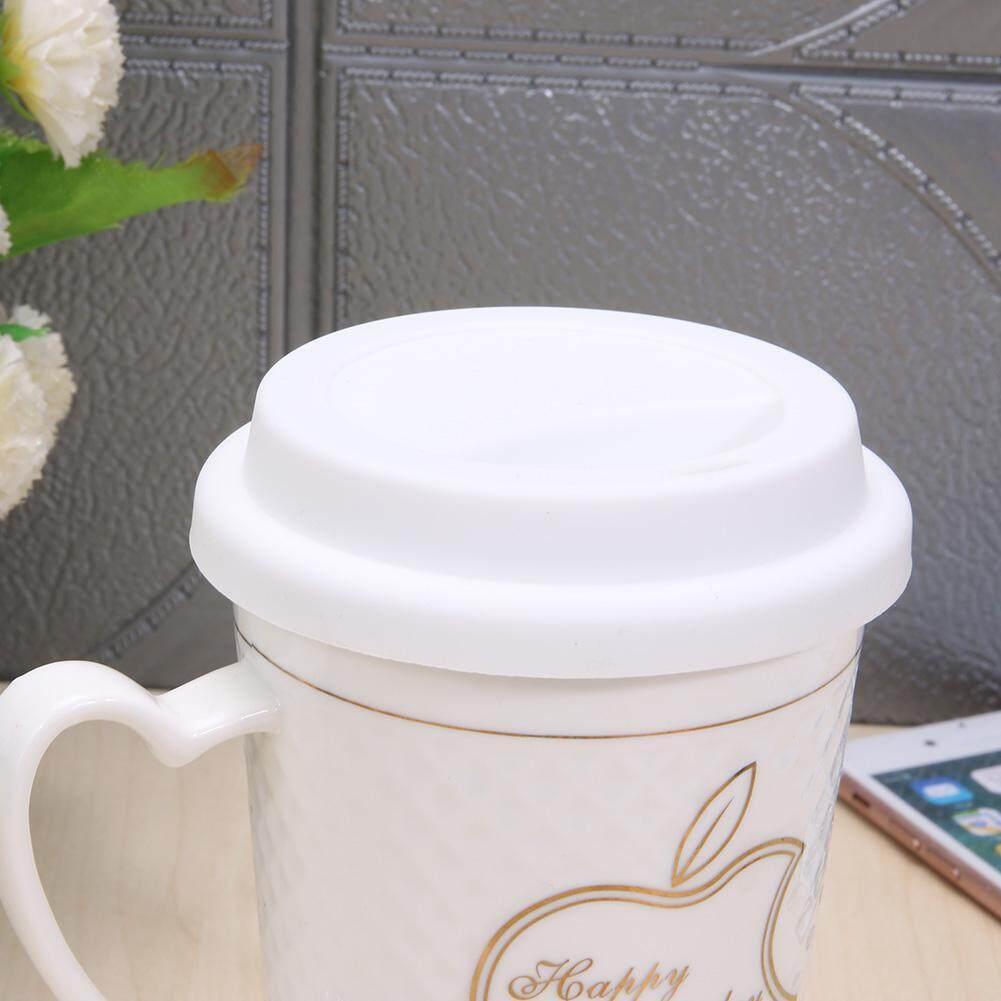 Detail Gambar Silicone Insulation Anti-Dust Cup Cover Tea Coffee Sealing Lid Cap - intl Terkini