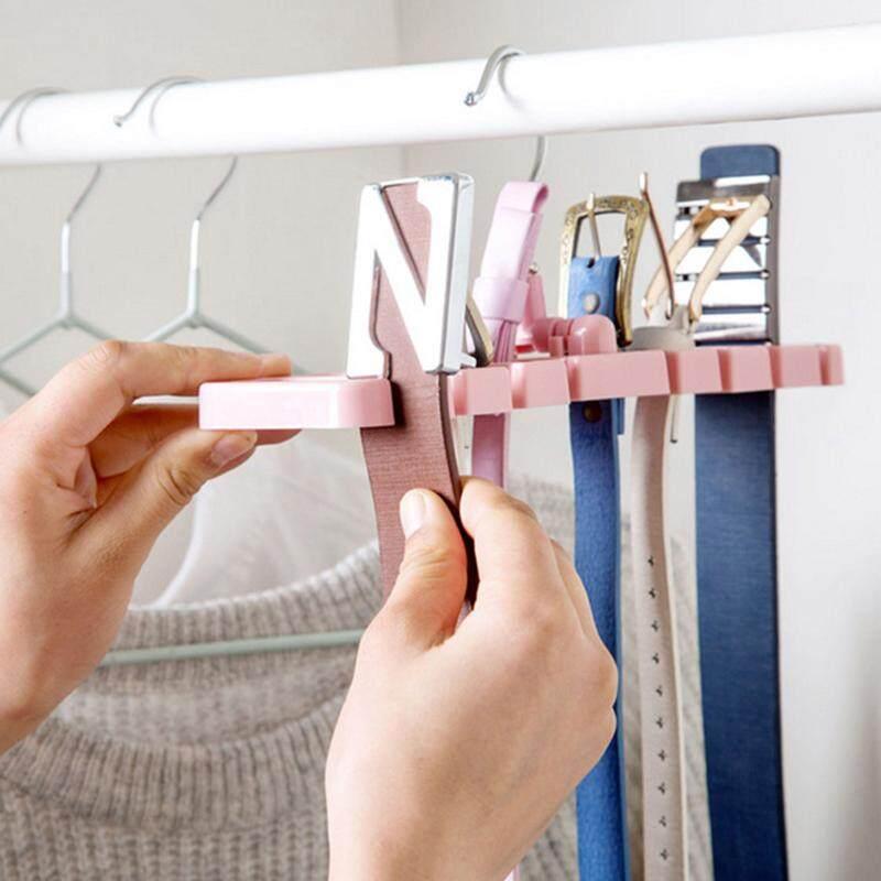 NEW Storage Rack Tie Belt Organizer Space Saver Rotating Ties Hanger Holder  Hook Closet Organization Tank