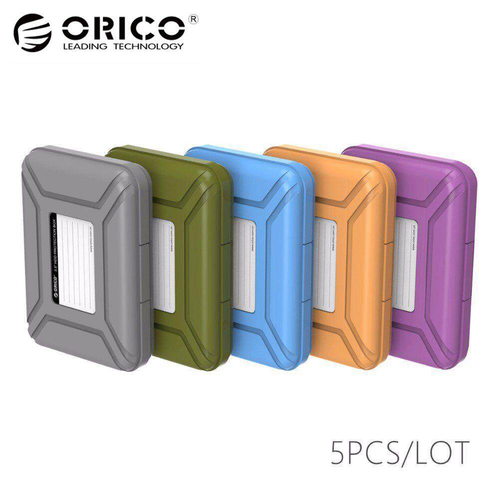 Orico PHX35-5C Unique Orico 5colors 3.5HDD Protector Box with EVA Sponge mat support Dust-proof+Moistureproof Mobile Disk drive Case