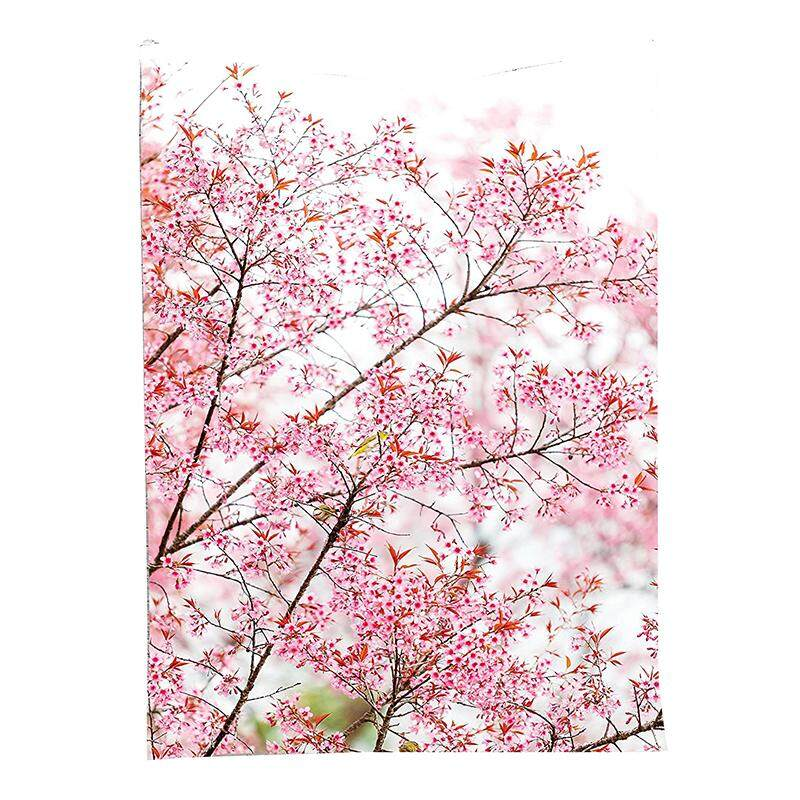 Sakura Cherry Trees Blossom Spring Garden Park Wall Hanging Tapestry - Intl By Lapurer.