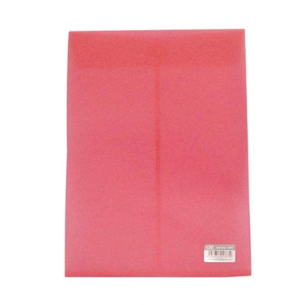 CBE 129A Document Holder W/Velco - Red