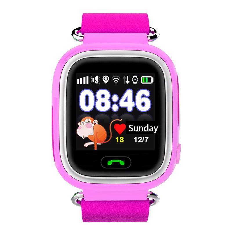 Rui Dia Baru GPS Murah Smartwatch Jam Bayi Q90 dengan Wi-fi Layar Sentuh Lokasi Panggilan SOS Devicetracker untuk Aman Anak Anti-Lost Monitor PKQ80 q60 DHL-Intl