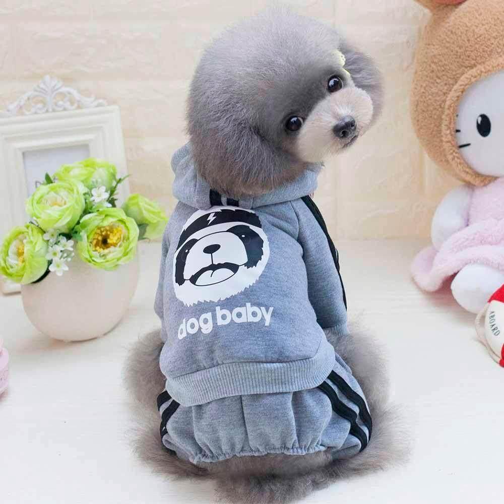 แฟชั่น Pet หนาเสื้อฤดูใบไม้ร่วงฤดูหนาวเสื้อขนแกะน่ารักเสื้อผ้าเครื่องแต่งกาย By Mokieshop.