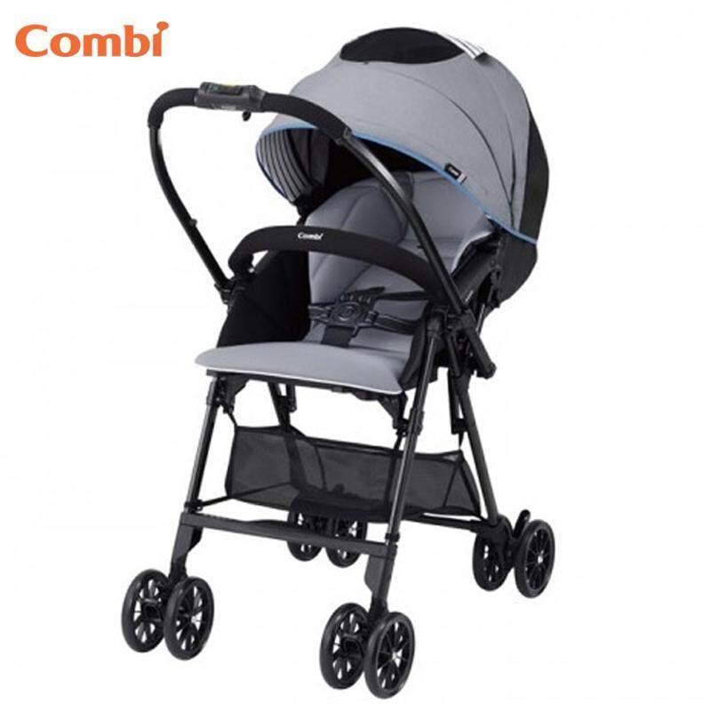 Combi Mechacal Handy S Sea Grey Super Light Weight Comfortable Baby Stroller