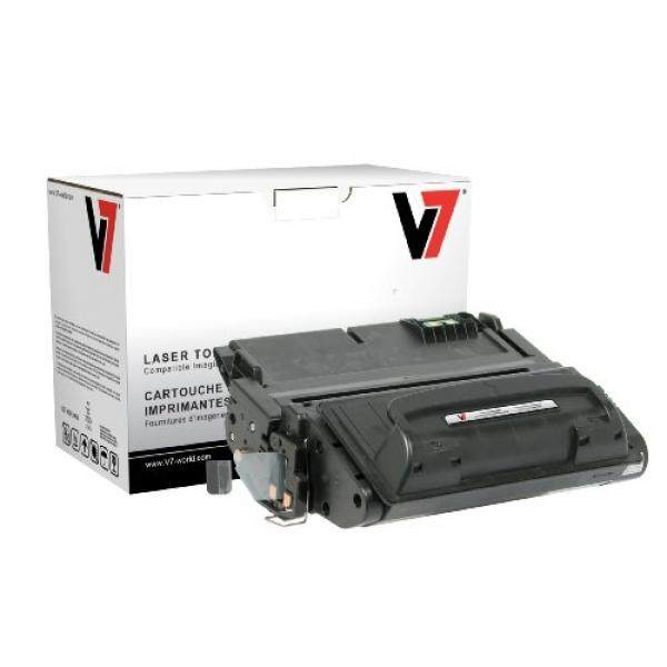 V7 V742AG Laser Toner for HP printers (Replaces Q5942A (HP 42A), yield up to 10000 pages) - intl