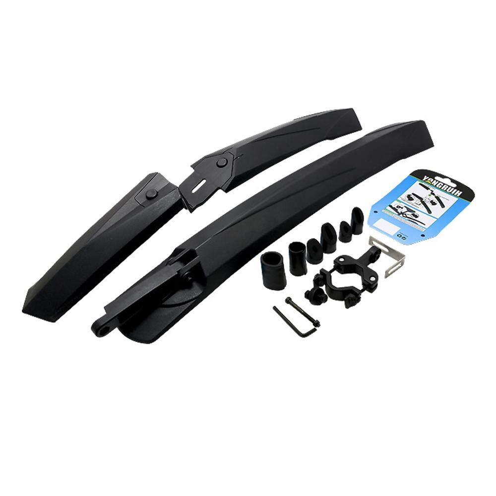 Hình ảnh Bike Bicycle Fender Accessories Set Mountain Front Rear Mudguard - intl