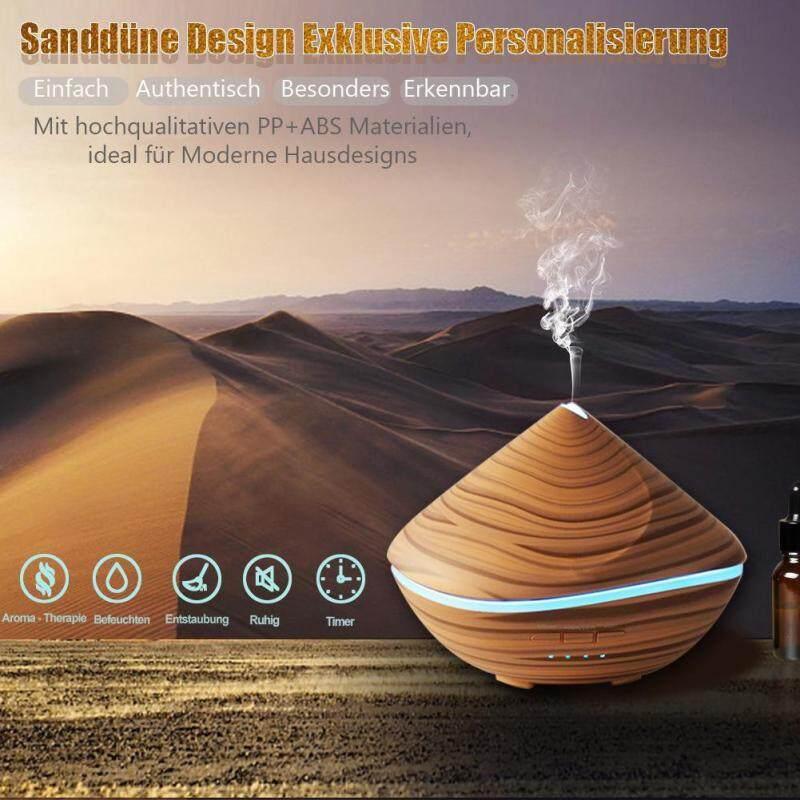 leegoal 500ML Ultrasonic Wood Aromatherapy Humidifier(16cm*16cm*9cm) Singapore