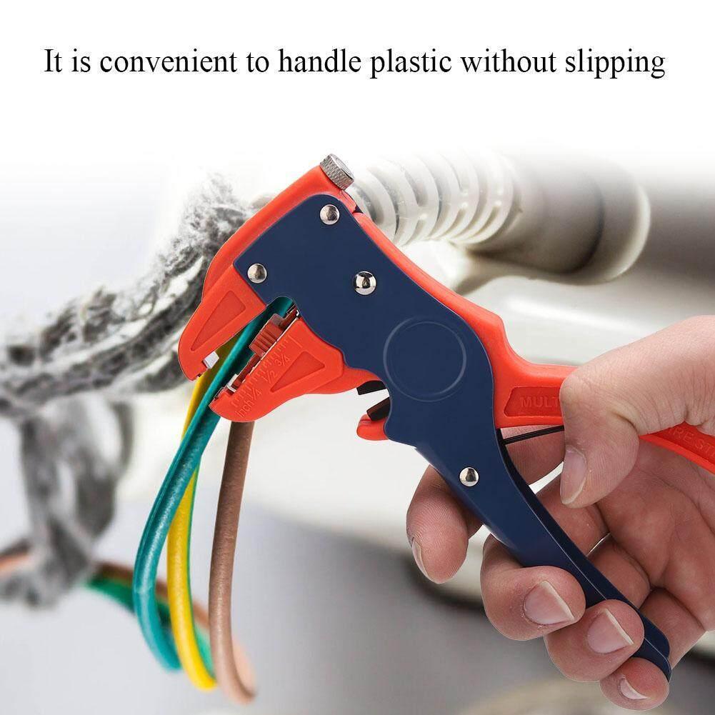 【Made ở Ý 】YTH-78-318 Tự điều chỉnh Cách Nhiệt Dây Dao Rọc Cáp Tay Uốn Kìm Cắt
