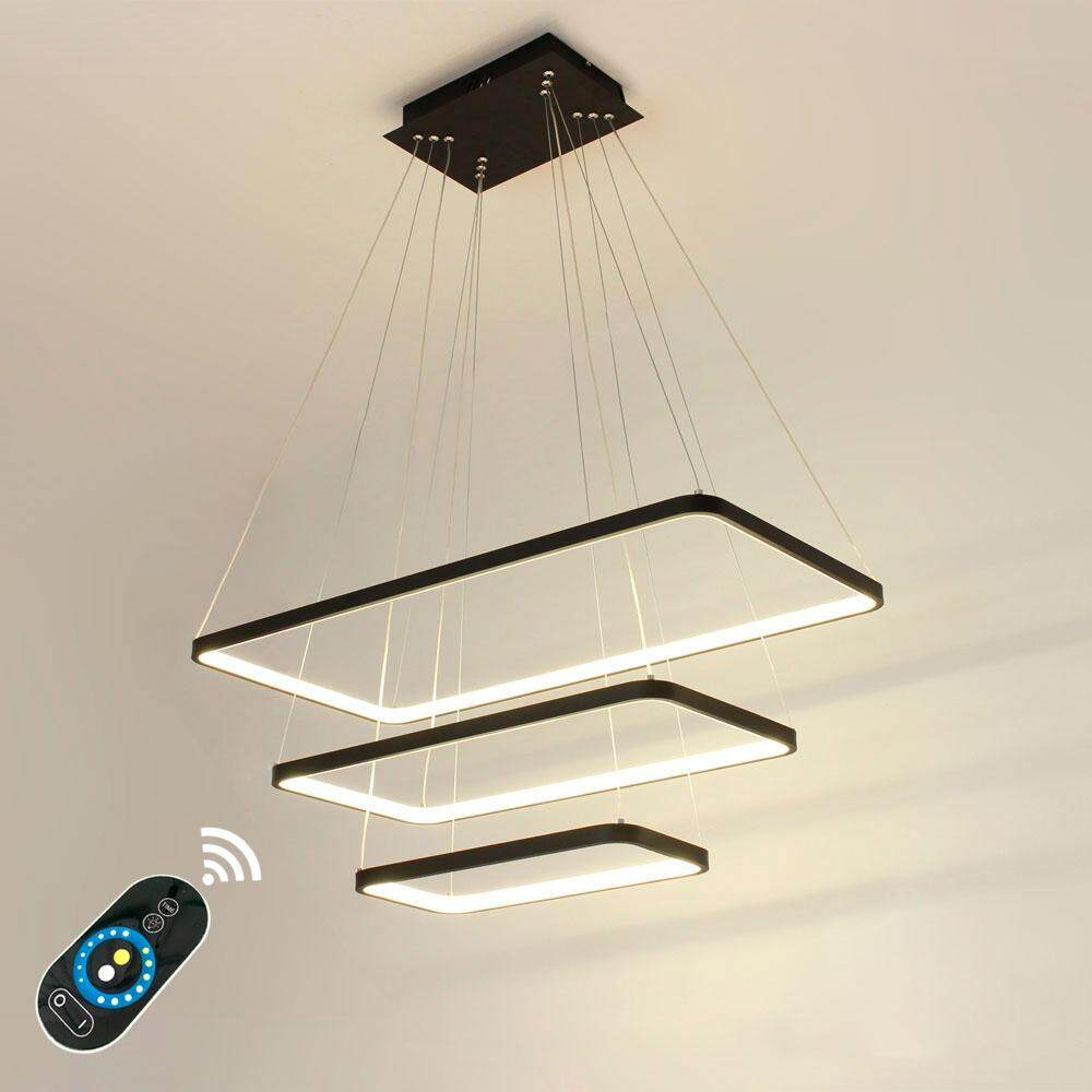 85 - 265V Lazada 90W Remoter Dimming Pendant Light Hanging Lamp for Living Bed Room