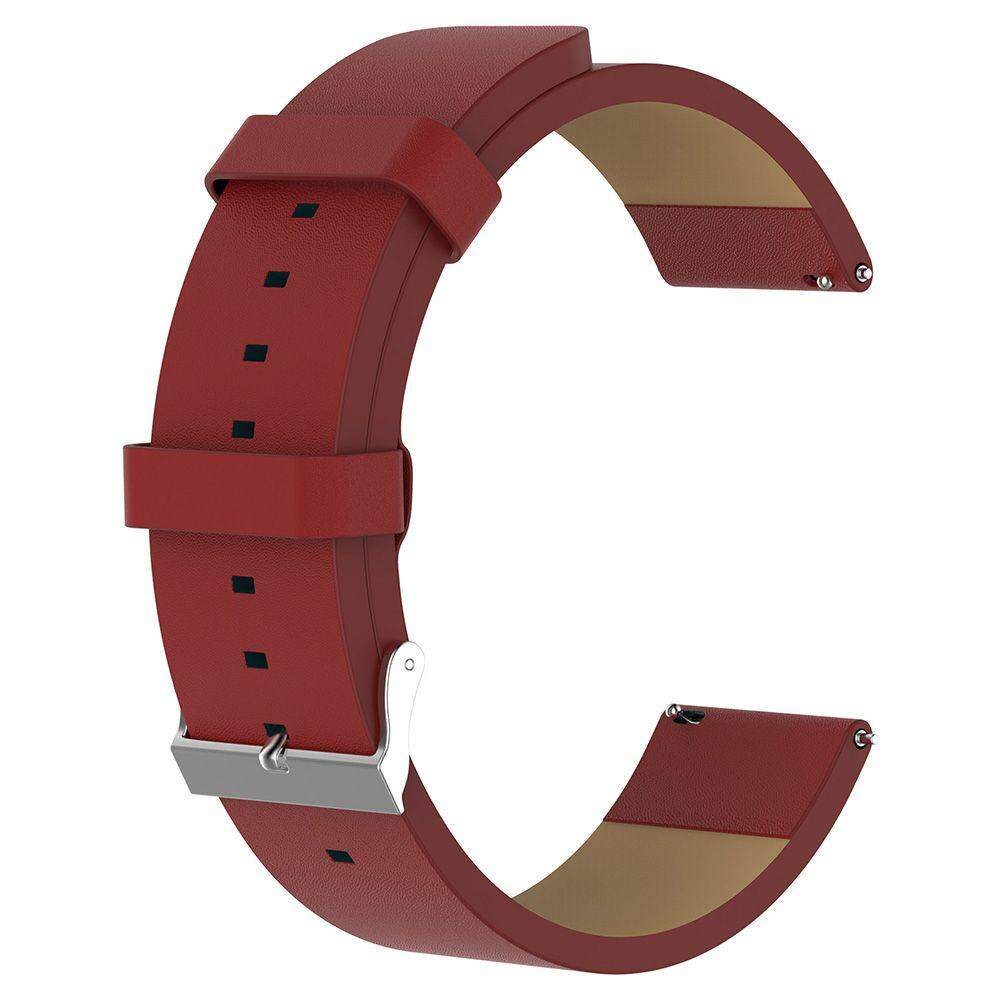 Replacement Leather Wristband Watch Band Strap Bracelet For Fitbit Versa - intl