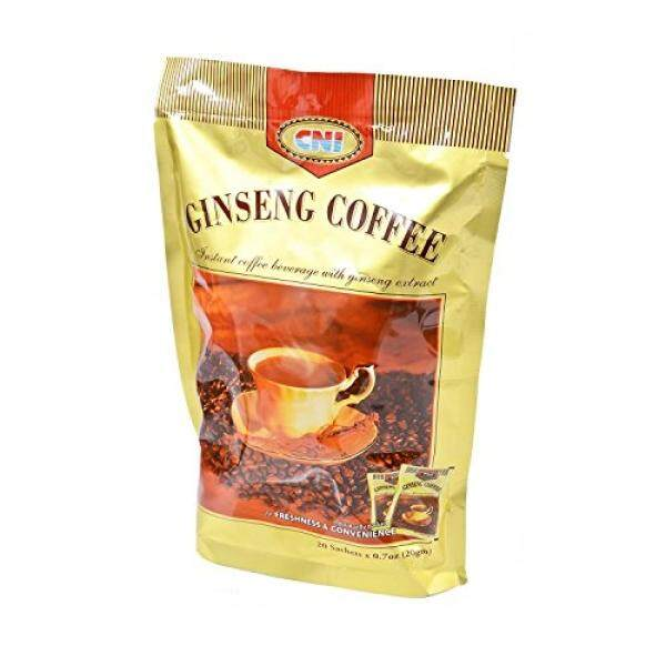 MUST BUY ! 1 Pack CNI Ginseng Coffee ( 20 Sachets x 20g Per Pack ) Instant Coffee Beverage - intl