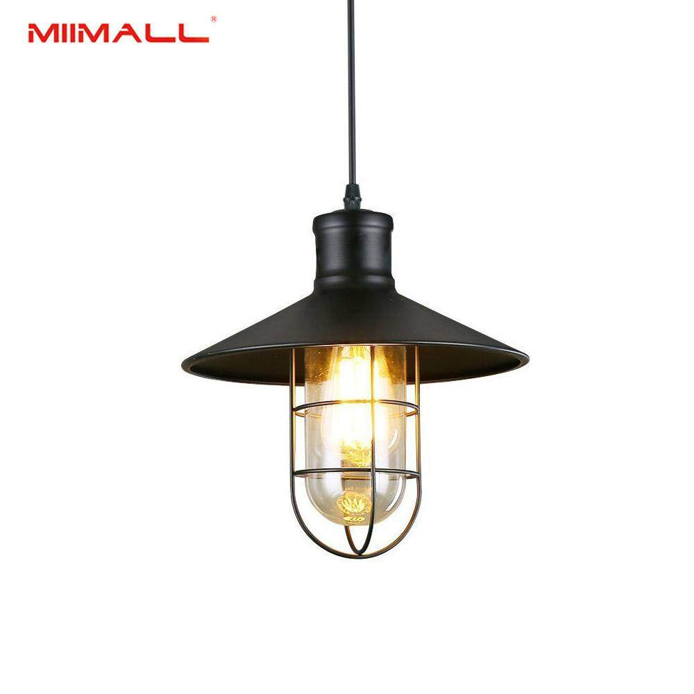 Miimall Retro Industrial Vintage Loft Ceiling light Chandelier Pendant Lamp Fixture (Bulb Not Included)