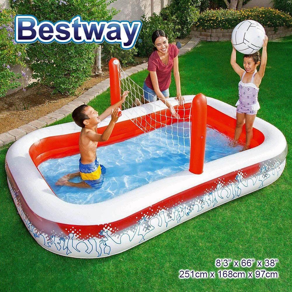 BESTWAY Inflate-A-Volley Pool Inflatable Pool Model 54125