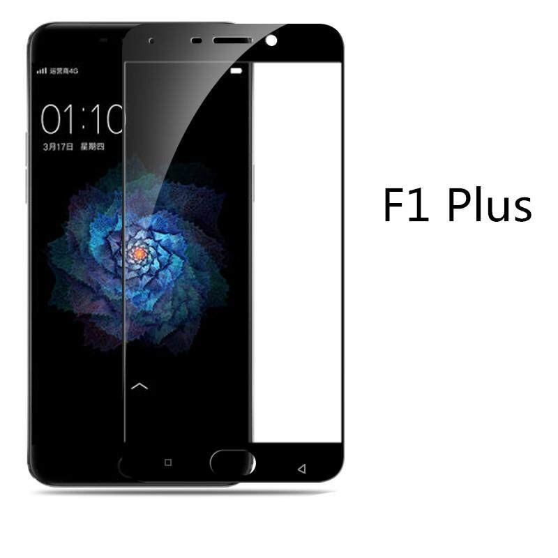 9H Full Covered Tempered Glass Screen Protector For OPPO F1 Plus