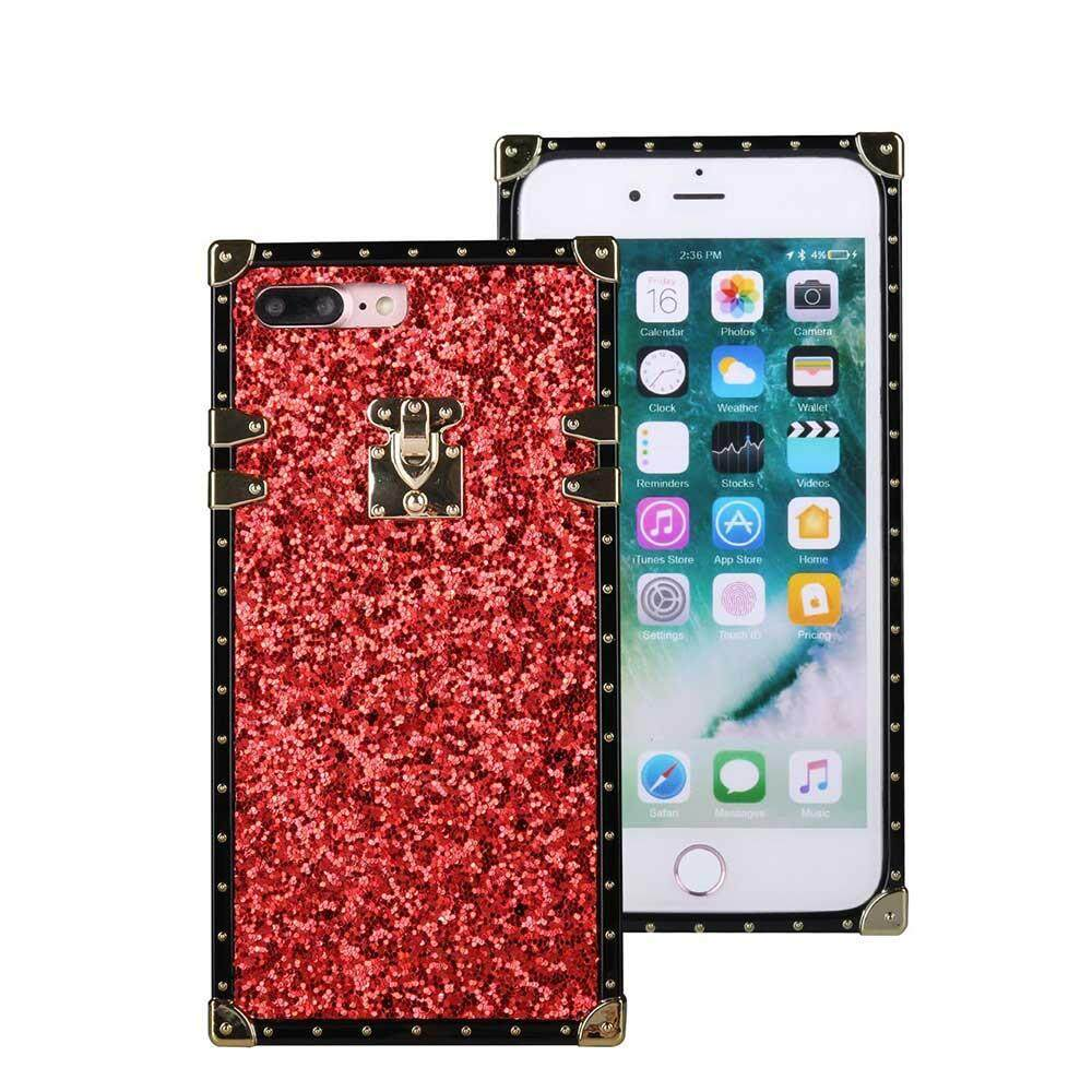 Tide Brand Glitter Sequins Phone Shell TPU All-inclusive Drop-proof Luxury Vintage Cute Case for Vivo X20 Plus