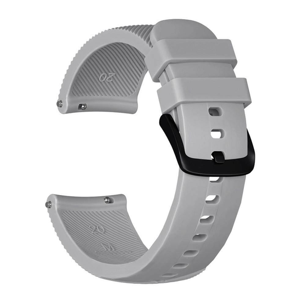 Niceeshop 20 Mm Gelang Pergelangan Silikon Band untuk Samsung Gear Tali Olahraga Tali Jam Tangan Silikon
