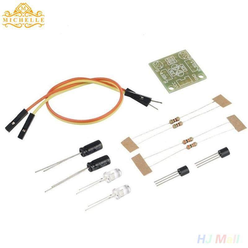 Flash Sederhana Sirkuit Produksi Elektronik DIY Dalam Modul Kit Papan LED Bagian