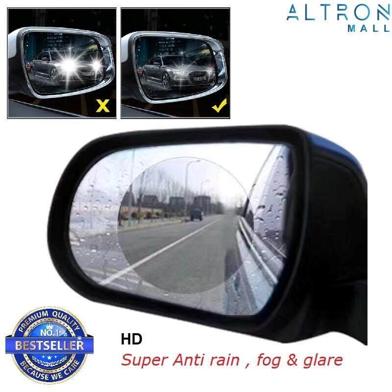 2pcs Car Rear View Mirror Waterproof Membrane HD Anti-Rain Anti-Fog Anti-Glare Nano Film Patch NEW