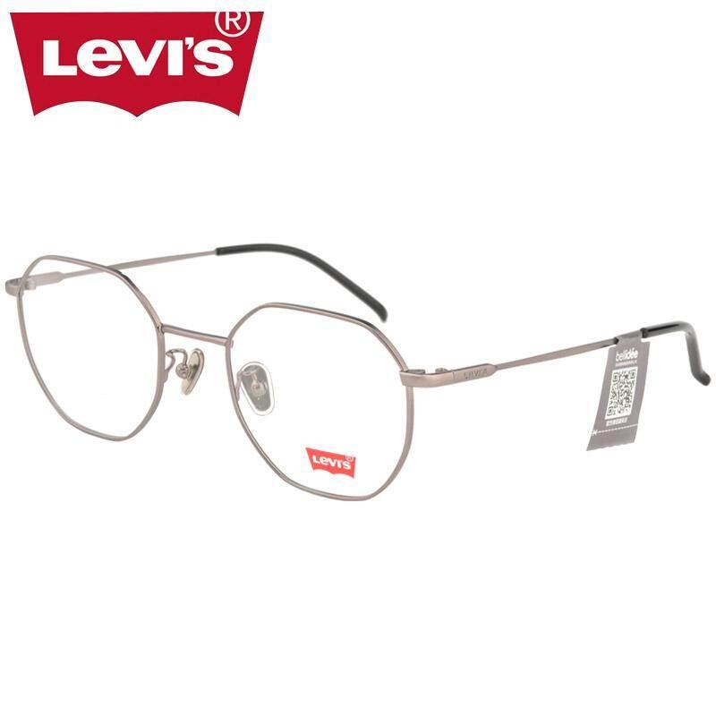 Levi  S Bingkai Kacamata Bingkai Kacamata Retro Pria atau Wanita Kerangka  Bulat Rabun Dekat 4e5612f435