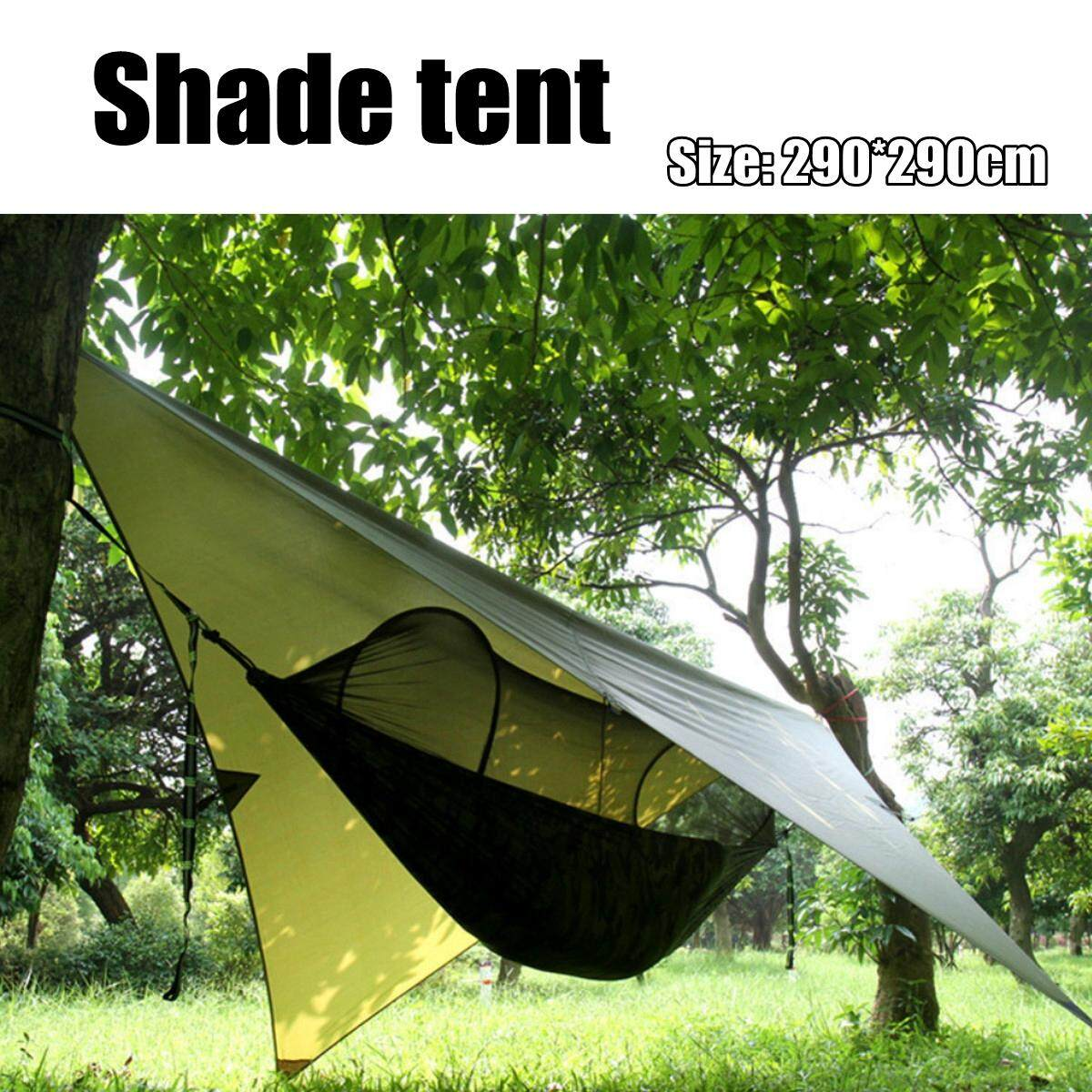 Portable High Strength Parachute Fabric Camping Hammock Hanging Bed With Mosquito Net Sleeping tent outdoor tent