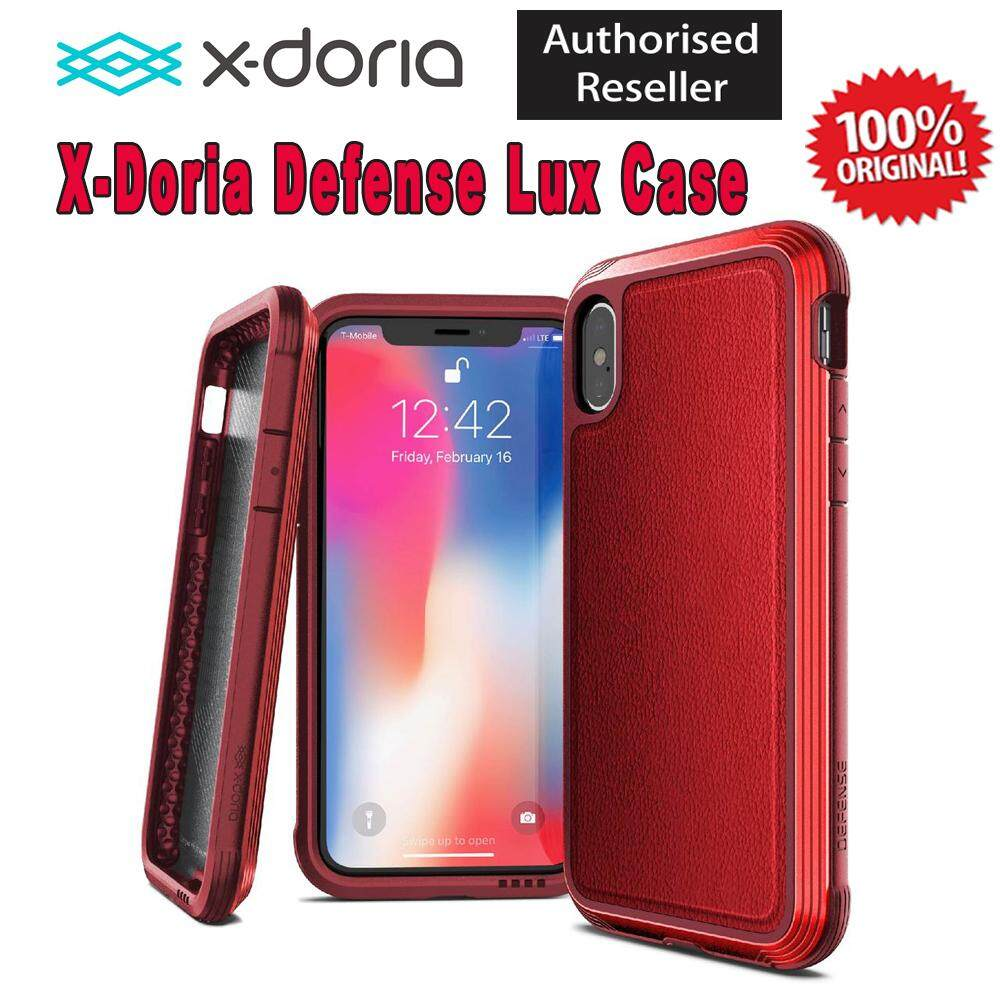 half off ed1e3 9394d Original X-Doria Defense Lux Case For Apple iPhone X/Xs iPhone XR iPhone Xs  Max