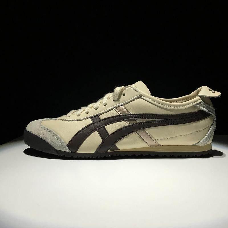 Tiger Loafer Sepatu ASIC Wanita dan Pria Onisuka Tiger Sepatu Olahraga Modis Ascs Sepatu Lari MEXICO