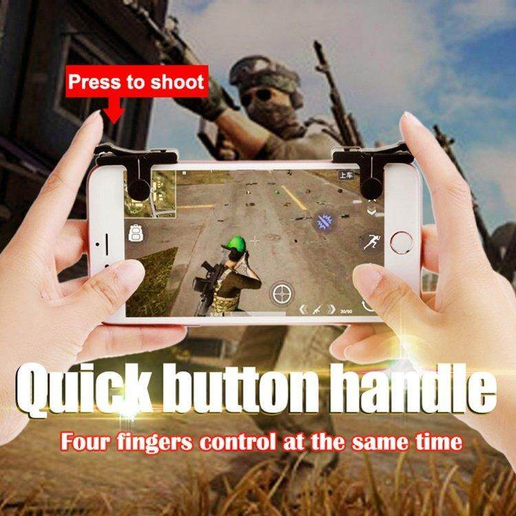 Fitur L1 R1 Sharp Shooter Pubg Mobile Joystick Rules Of Survival