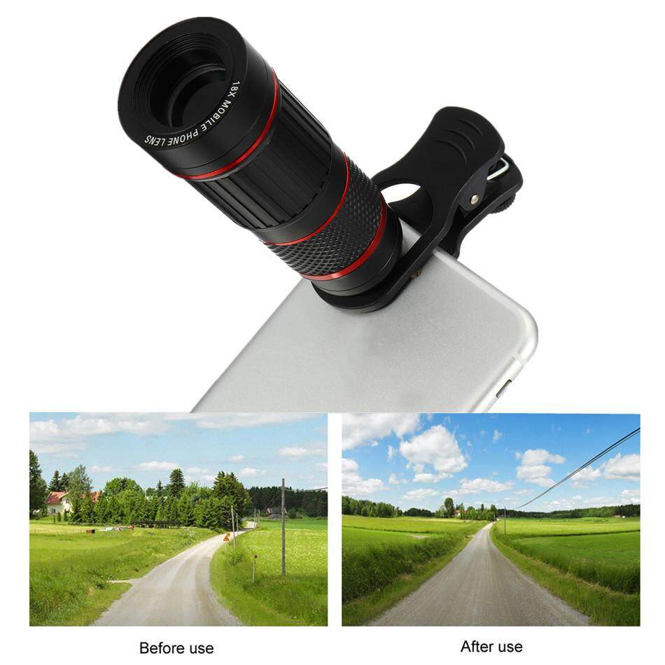 18X Zoom HD Optical Lens Telephoto Telescope Camera Clip-On For Cell Phones