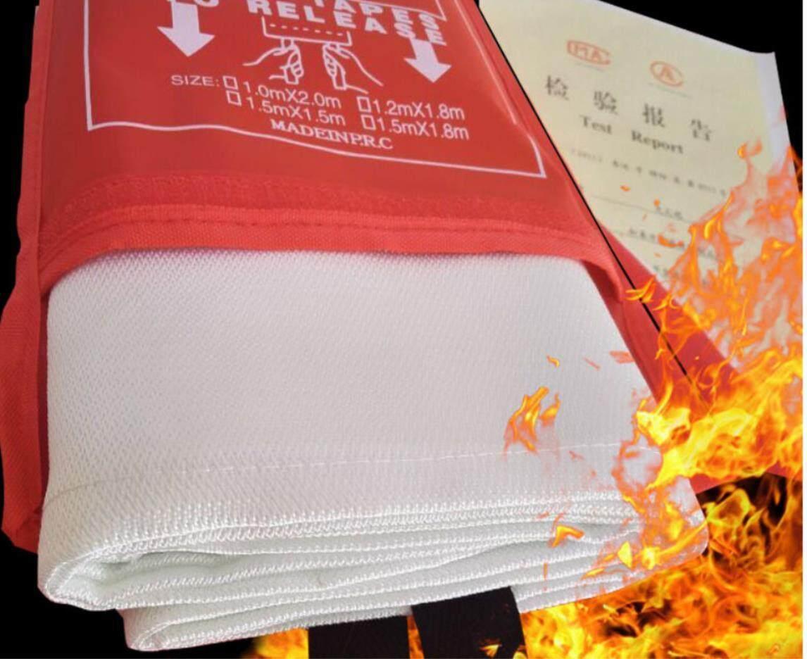 Jual Selimut Pemadam Kebakaran Penghangat Emergency Blanket Utk Camping E Leen 18 M Api Kain Serat Kaca Rumah Tangga