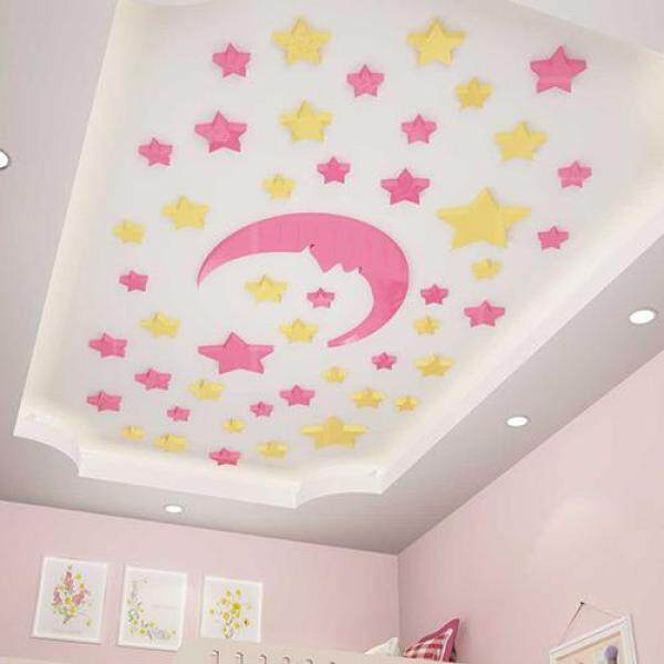 XINGX Ceiling Wall Stickers CHILDRENS Room Decoration Walls Roof Stickers Ceiling Adhesive Paper Kindergarten 3D Wall Stickers