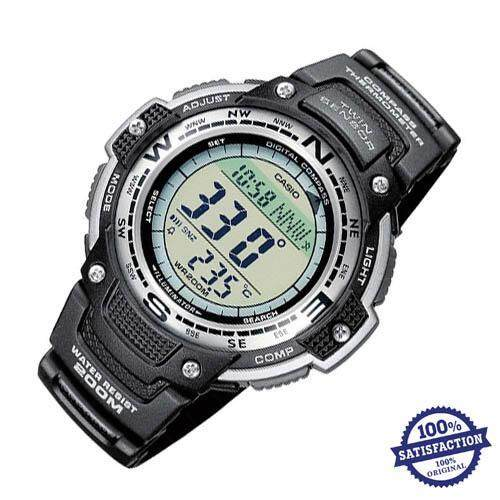 Casio Men's SGW-100-1V Twin Sensor Temperature Men's .