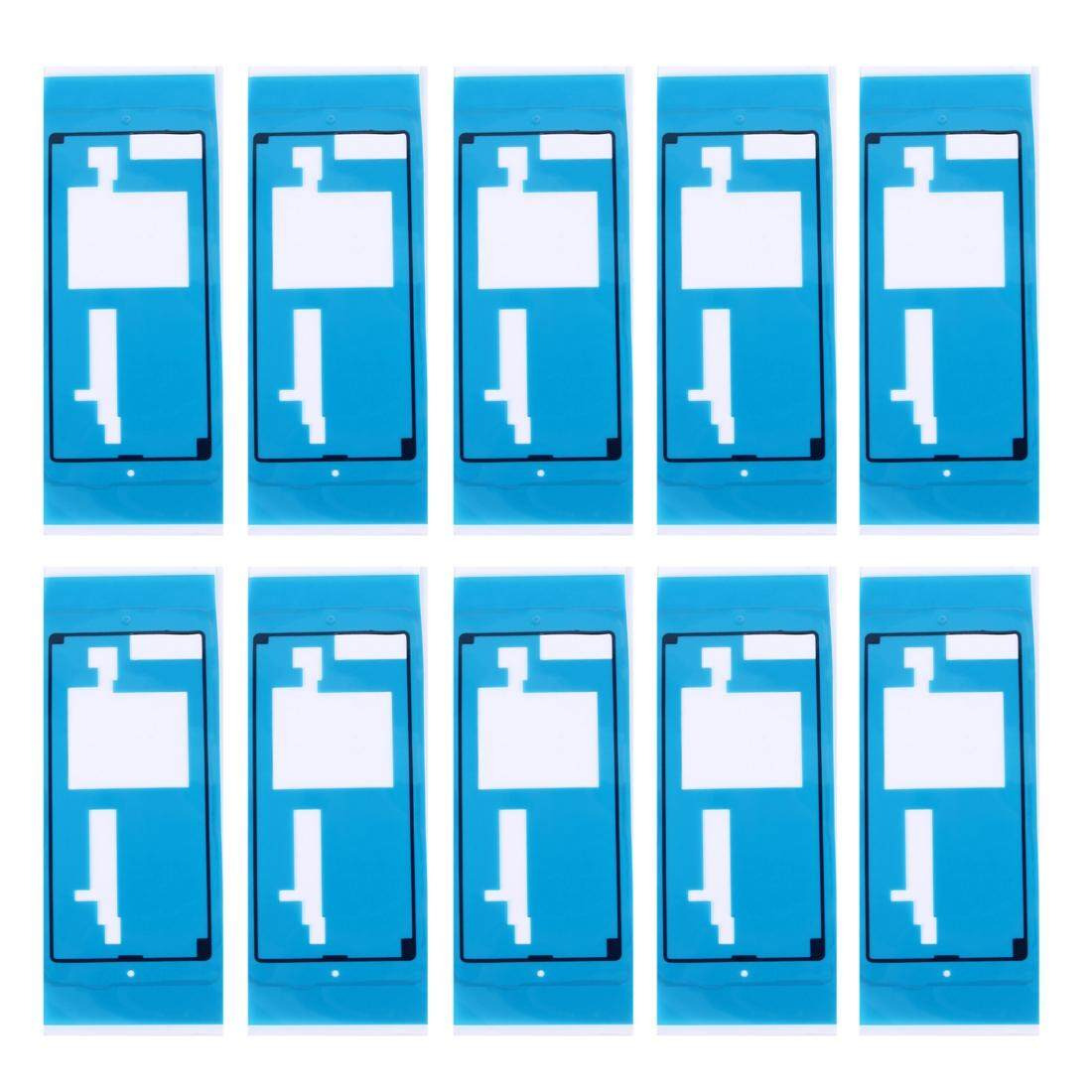 10 PCS iPartsBuy for Sony Xperia M5 Rear Housing Cover Adhesive