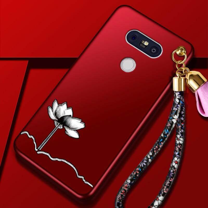 "For LG G5 5.3. For LG G5 5.3 "" inch Luxury 3D Flowers Soft Back"