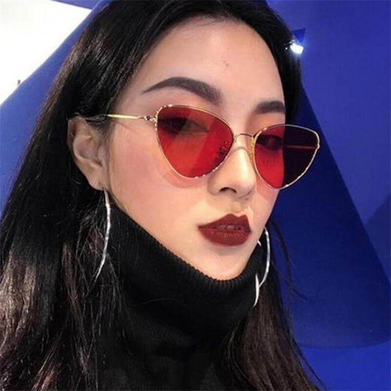 1c7c53a3b54 Great-King 2018 Cat Eye Women Sunglasses Tinted Color Lens Vintage Shape Sun  Glasses Women