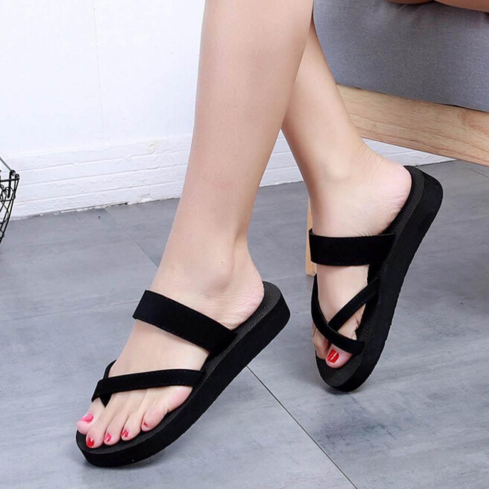 5942b18ed50de4 chinastorenie Womens Summer Flip Flops Casual Slippers Flat Sandals Beach  Open Toe Shoes