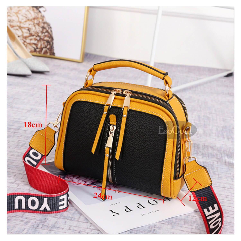 Detail Gambar EsoGoal tas selempang / tas slempang / tas bahu wanita / tas cewek / tas murah / tas wanita murah / tas wanita terbaru / tas cantik / was ...