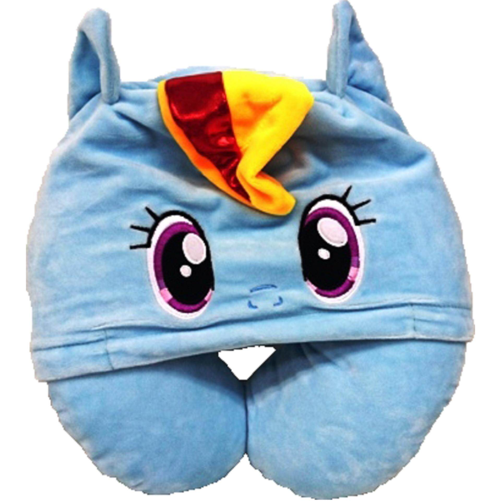 My  Little Pony Hooded Neck Cushion - Rainbow Dash