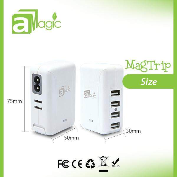 universal 2A output 4 usb ports plug travel charger