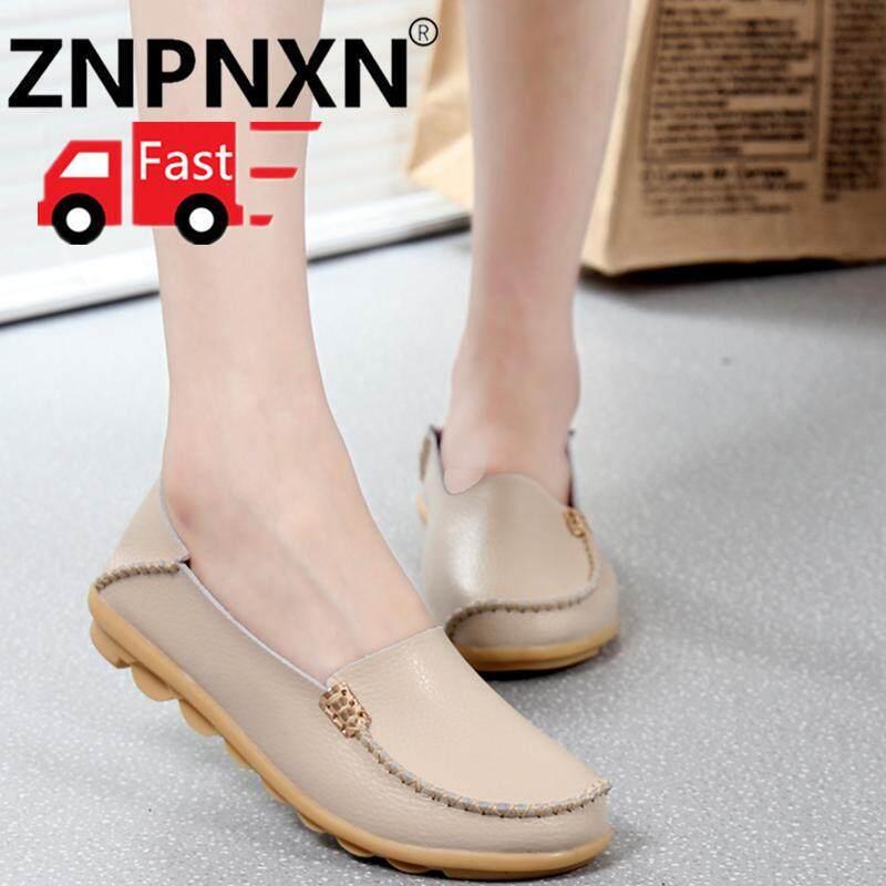 Znpnxn Baru Musim Panas Ukuran Besar Sepatu Santai untuk Mode untuk Wanita  Nyaman dan Lembut Tods 6f05625dc8