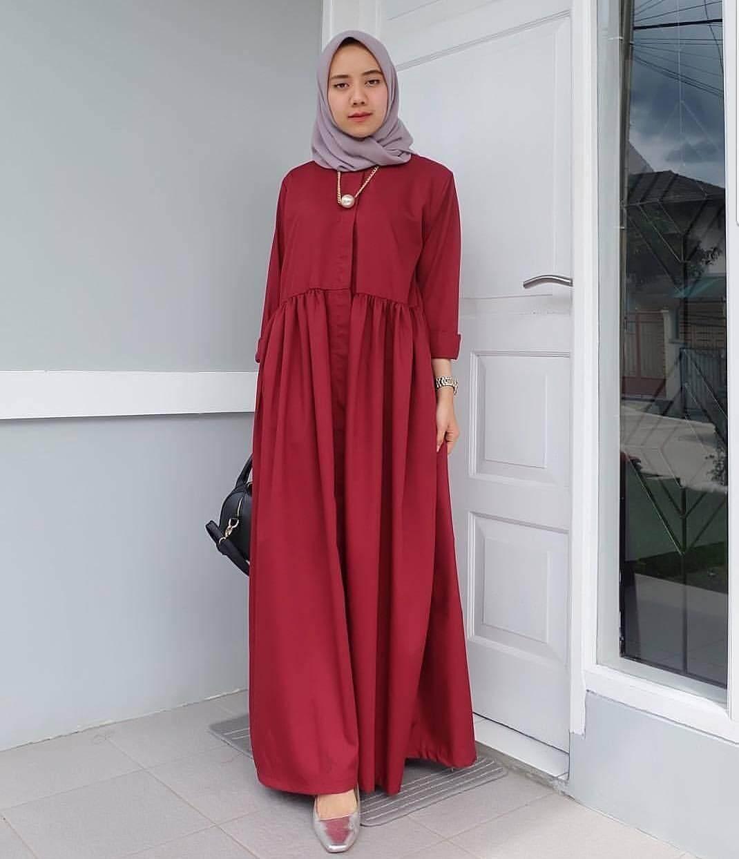 Stelan Celana Kulot 34 Berlengan Pendek Batik Print Spt002 06e 3 4 01 Spt001 03d Source Dpt005 36 Muslimah
