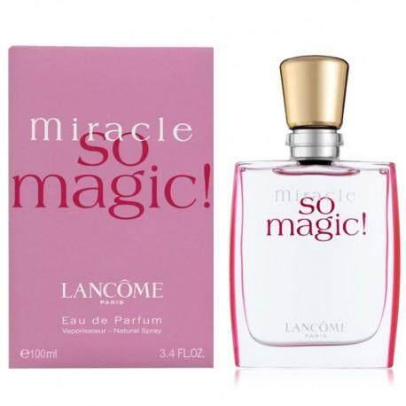 Premium Edp Guarantee Lasting Quality High So Magic Miracle Long Lancome 100ml 3RAL54j