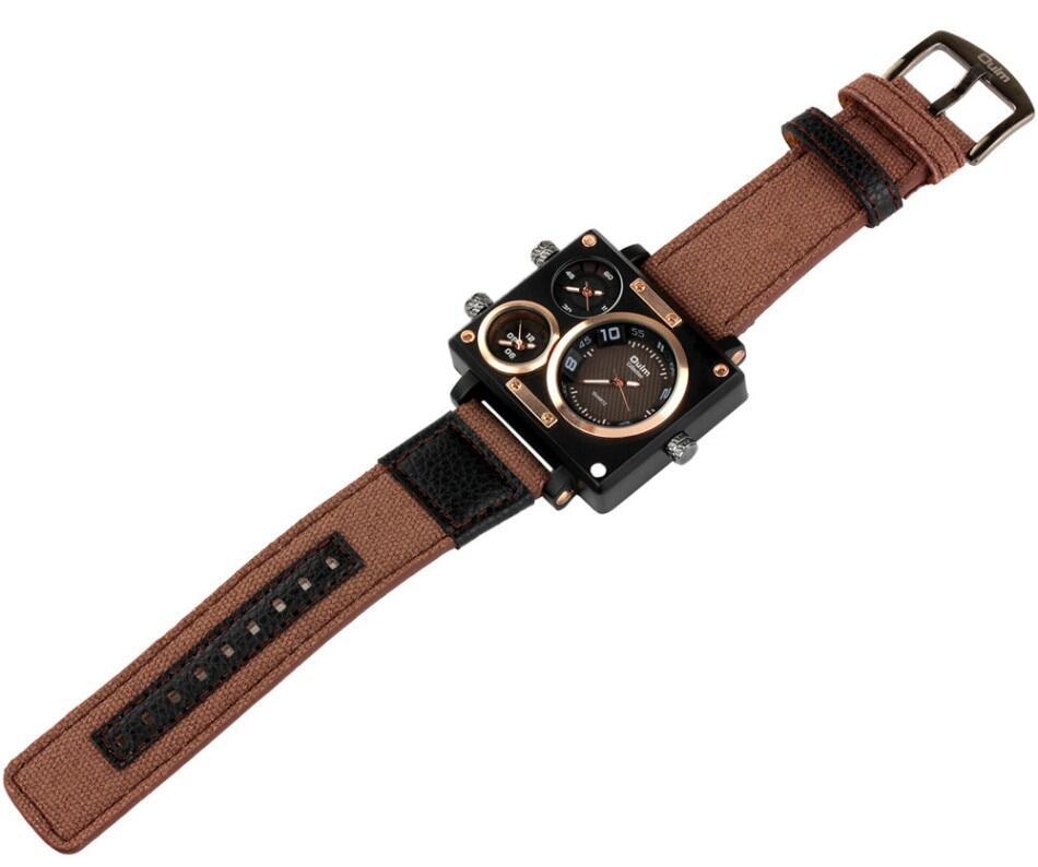 Oulm 3595 Men Quartz Watch--021
